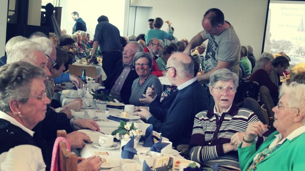 Mit 105 Gästen war der erste Seniorennachmittag im Vereinsheim ein absoluter Erfolg. Ein zweiter Termin findet im September statt. (Foto: Marcel Schlüter)